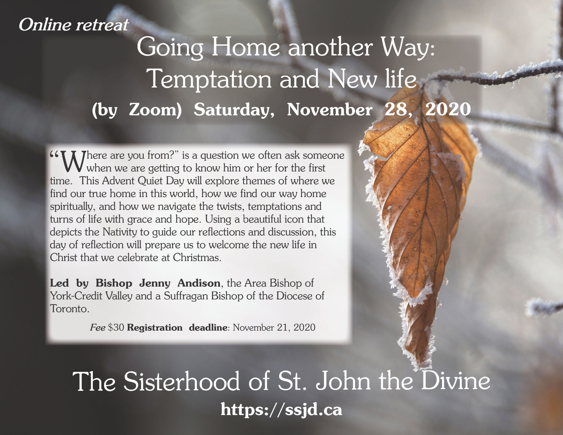 Going Home Another Way: Temptation And New Life