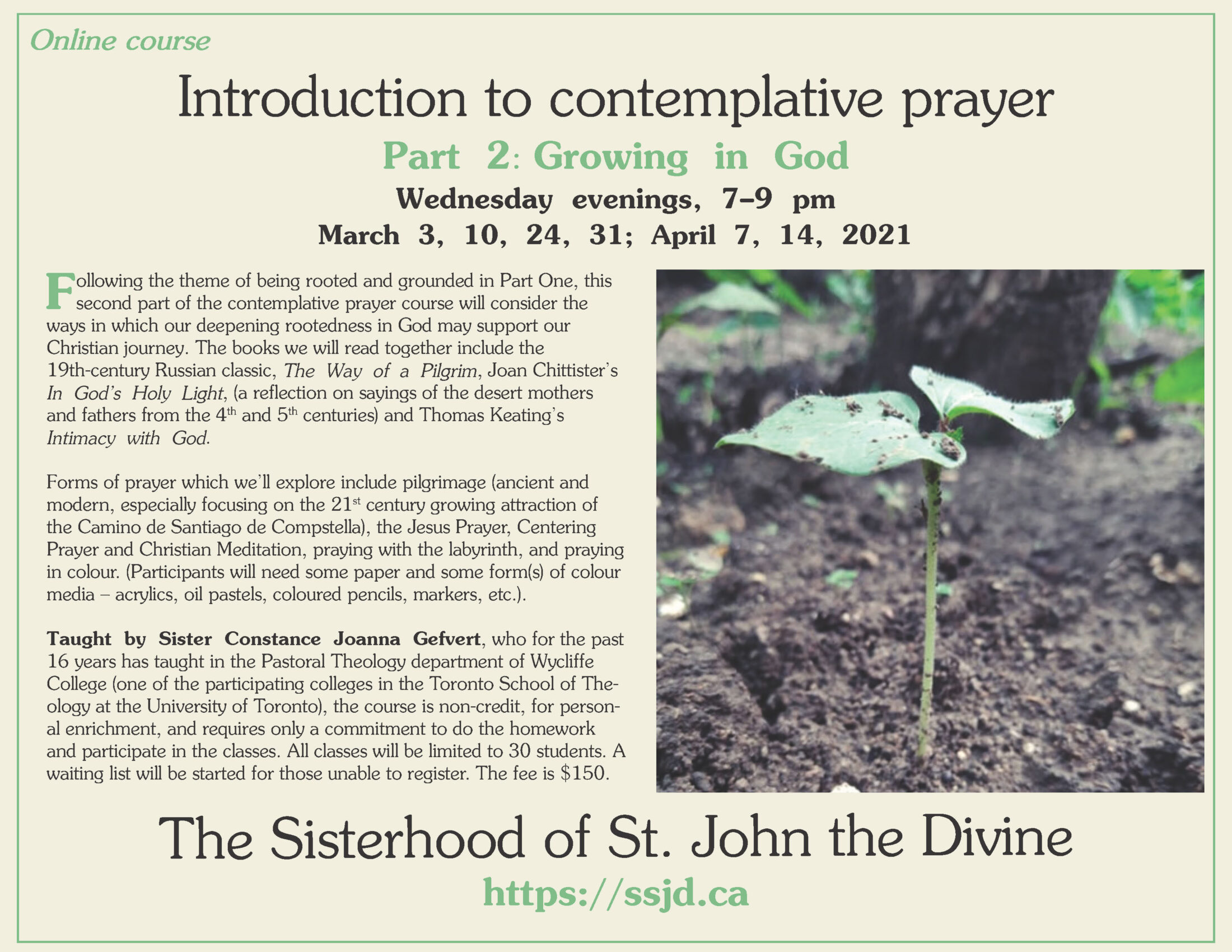 Introduction To Contemplative Prayer: Part 2- Growing In God