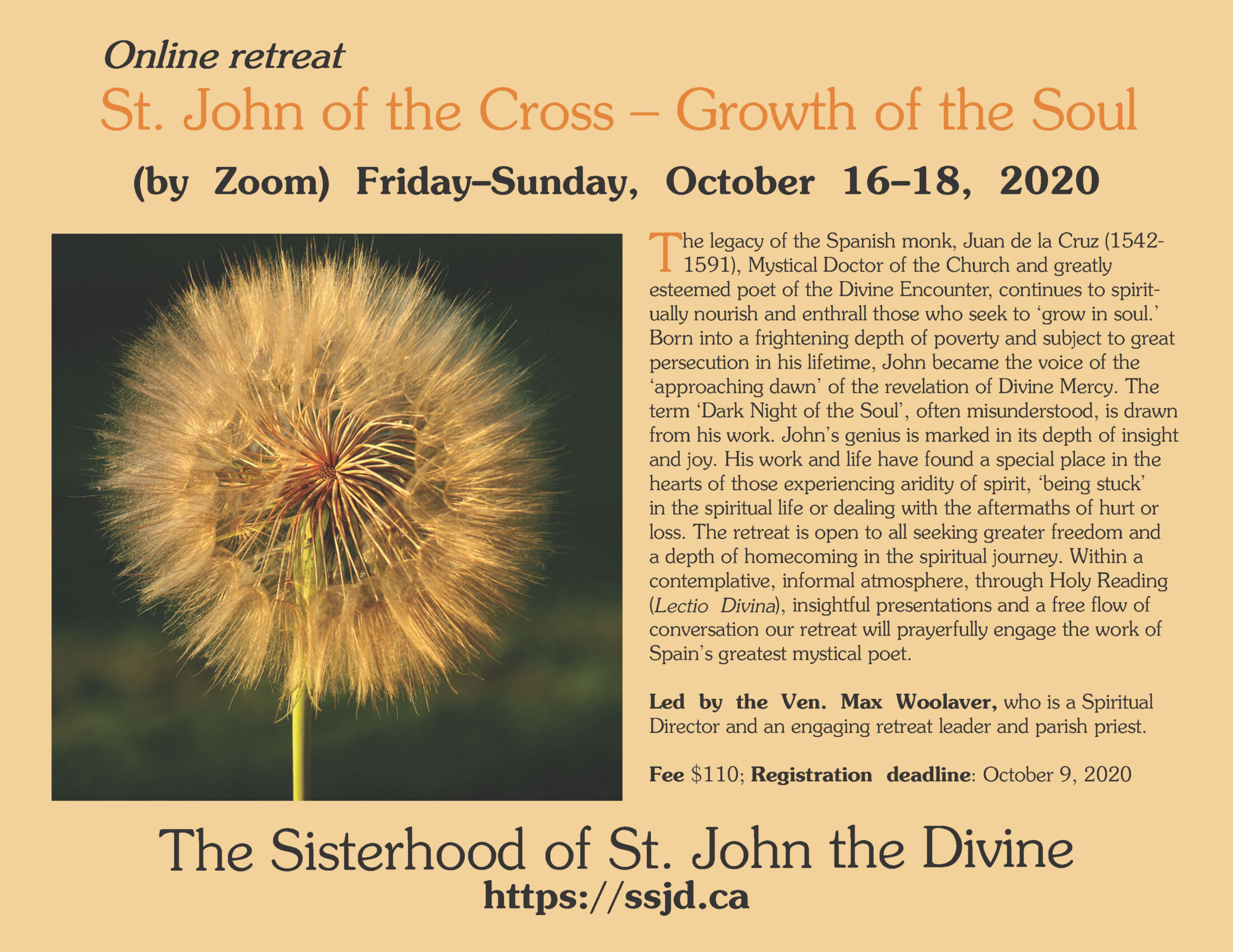 St. John of the Cross – Growth of the Soul