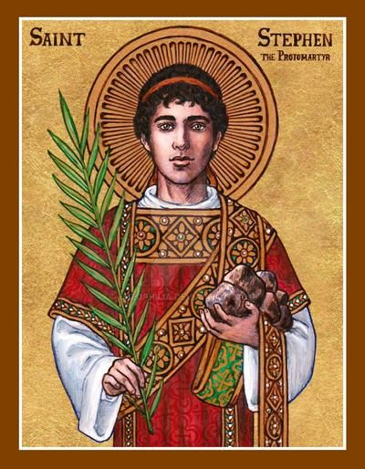 On the Feast of St. Stephen