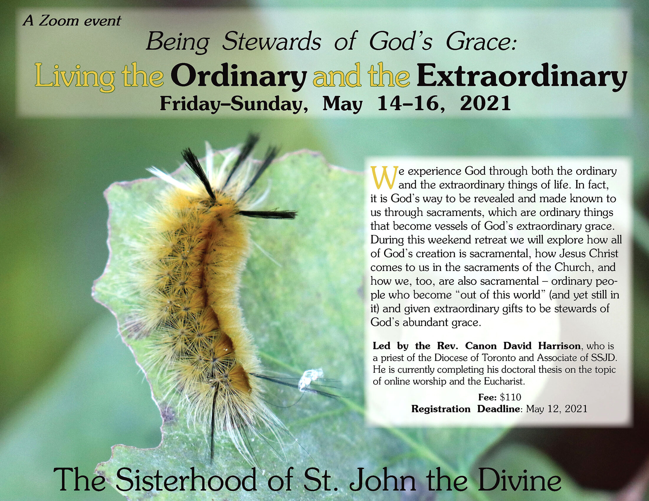 Being Stewards of God's Grace: Living the Ordinary and the Extraordinary