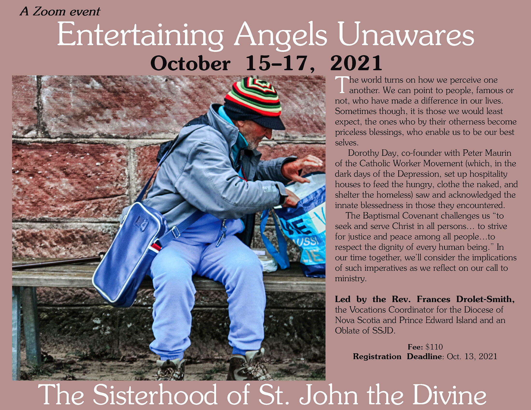 Entertaining Angels Unawares Retreat