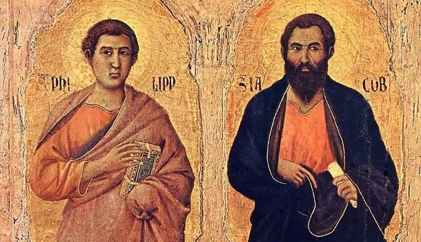 Homily for the Feast of Philip and James.