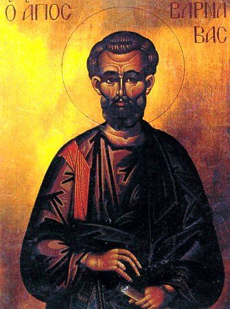 A Homily For The Feast of St. Barnabas.