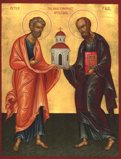 Homily for the Feast of St. Peter and St. Paul and Sr. Suzanne Marie's First Profession.