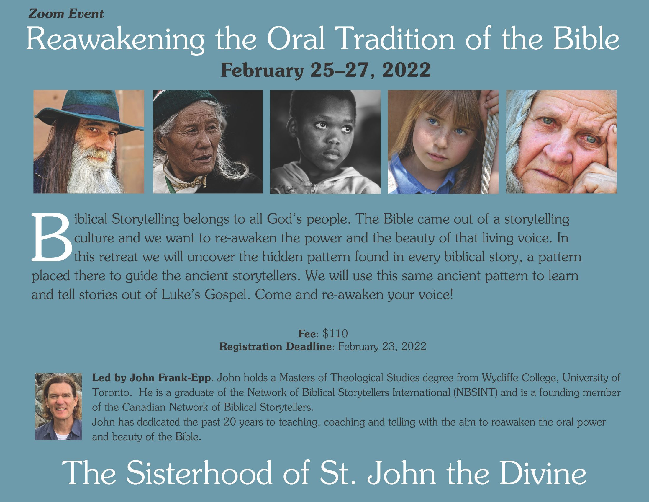 Reawakening the Oral Tradition of the Bible